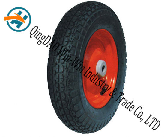 "Pneumatic Rubber Wheel for Tool Cart Wheel (14""X3.50-8)"