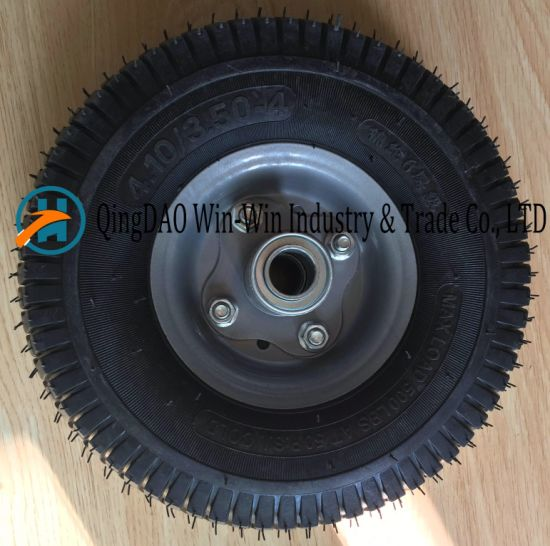 Wear-Resistant Rubber Wheel for Wheelbarrow (4.10/3.50-4)