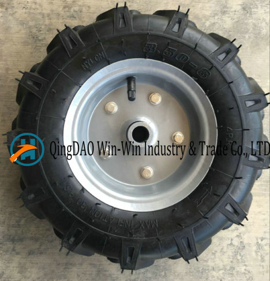 Pneumatic Rubber Wheel Used on Machine (3.50-6)
