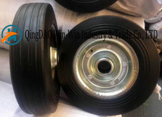 Solid Rubber Wheel for Hand Truck (8*1.75)