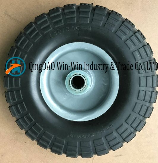 Hot Sale PU Wheel Used on Hand Track (4.10/3.50-4)