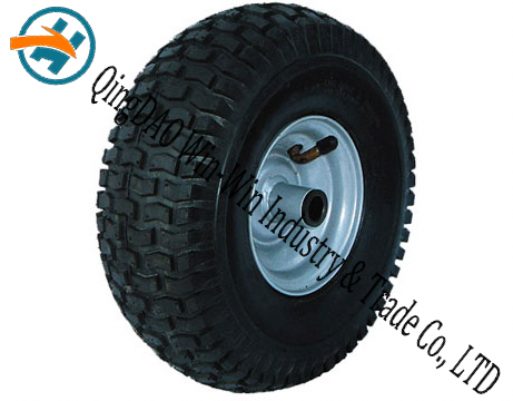 "10""X4.10/3.50-4 Pneumatic Rubber Wheel for Hand Truck"