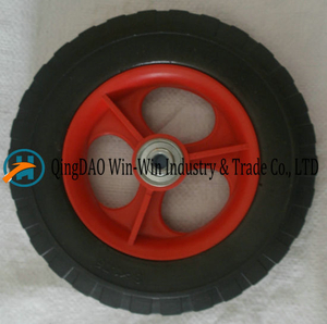 Anti-Puncture PU Foamed Wheel for Lawn Mover (8*1.75)