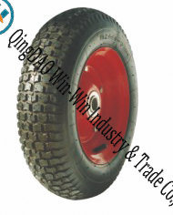 "Pneumatic Rubber Wheel for Hand Truck Wheel (16""X4.50-8)"