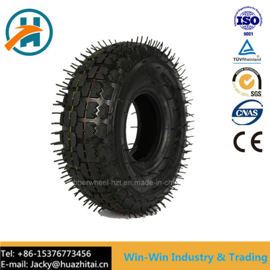 Rubber Wheel with Pneumatic Tyre (4.10/3.50-4)