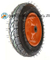 3.00-8 Pneumatic Rubber Wheel for Trolley