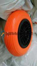 PU Wheel for Garden Wheelbarrow Wheels (3.50-8)