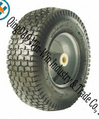 "Rubber Turf Wheel for Lawn Mower Wheels (13""X5.00-6)"